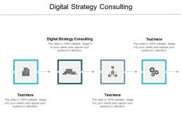Digital Strategy Consulting Ppt Powerpoint Presentation Styles Professional Cpb