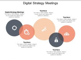 Digital Strategy Meetings Ppt Powerpoint Presentation Summary Design Ideas Cpb