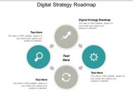 Digital Strategy Roadmap Ppt Powerpoint Presentation Portfolio Layout Ideas Cpb