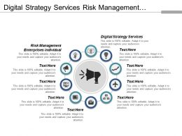 Digital Strategy Services Risk Management Enterprises Individuals Customers Approach Cpb