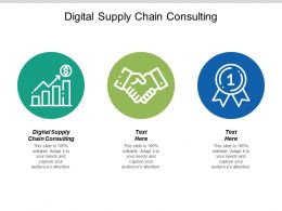 Digital Supply Chain Consulting Ppt Powerpoint Presentation Gallery Portfolio Cpb