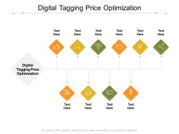 Digital Tagging Price Optimization Ppt Powerpoint Presentation Infographic Template Mockup Cpb