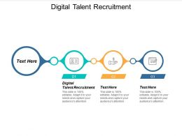 Digital Talent Recruitment Ppt Powerpoint Presentation Ideas Smartart Cpb