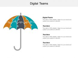 Digital Teams Ppt Powerpoint Presentation File Skills Cpb