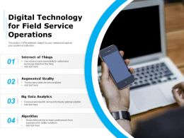 Digital Technology For Field Service Operations