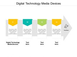 Digital Technology Media Devices Ppt Powerpoint Presentation Show Model Cpb