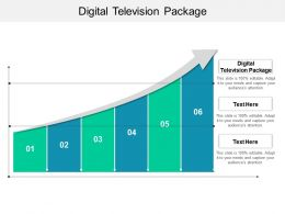 Digital Television Package Ppt Powerpoint Presentation Gallery Themes Cpb