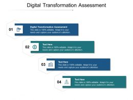 Digital Transformation Assessment Ppt Powerpoint Presentation Inspiration Skills Cpb