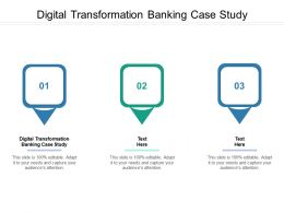 Digital Transformation Banking Case Study Ppt Powerpoint Presentation Icon Portfolio Cpb