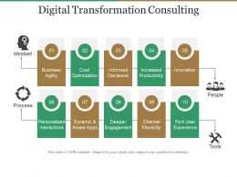 Digital Transformation Consulting Powerpoint Slides