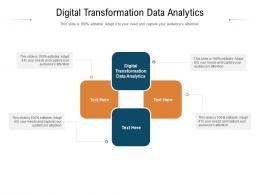 Digital Transformation Data Analytics Ppt Powerpoint Presentation Outline Inspiration Cpb