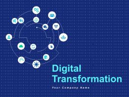 Digital Transformation Digitisation Business Technology