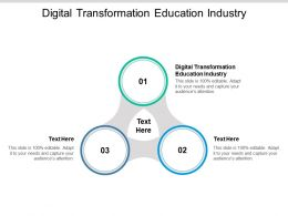 Digital Transformation Education Industry Ppt Powerpoint Templates Cpb