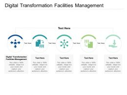 Digital Transformation Facilities Management Ppt Powerpoint Presentation Slides Diagrams Cpb