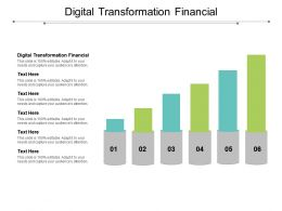 Digital Transformation Financial Ppt Powerpoint Presentation Backgrounds Cpb