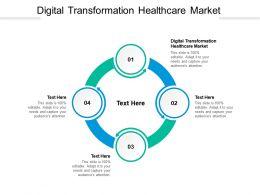Digital Transformation Healthcare Market Ppt Powerpoint Ideas Deck Cpb