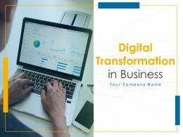 Digital Transformation In Business Powerpoint Presentation Slides