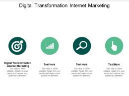 Digital Transformation Internet Marketing Ppt Powerpoint Presentation Portfolio Smartart Cpb