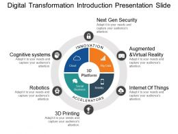 Digital Transformation Introduction Presentation Slide