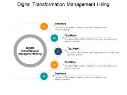 Digital Transformation Management Hiring Ppt Powerpoint Presentation Portfolio Cpb