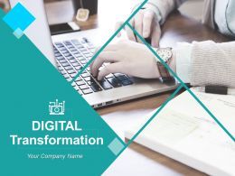 Digital Transformation Powerpoint Presentation Slides