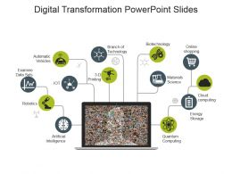 Digital Transformation Powerpoint Slides