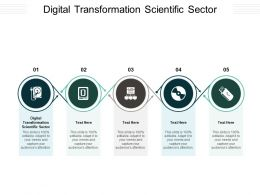 Digital Transformation Scientific Sector Ppt Powerpoint Presentation Show Templates Cpb