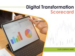 Digital Transformation Scorecard Powerpoint Presentation Slides