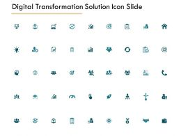 Digital Transformation Solution Icon Slide Technology Growth C280 Ppt Powerpoint Presentation Themes