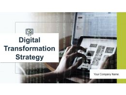 Digital Transformation Strategy Powerpoint Presentation Slides