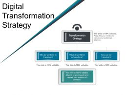 Digital Transformation Strategy Ppt Sample Download