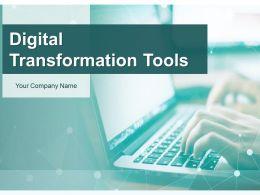 Digital Transformation Tools Powerpoint Presentation Slides