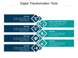 Digital Transformation Tools Ppt Powerpoint Presentation Icon Tips Cpb