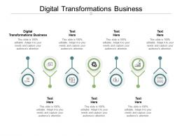 Digital Transformations Business Ppt Powerpoint Presentation Pictures Background Images Cpb