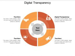 Digital Transparency Ppt Powerpoint Presentation Infographic Template Background Cpb