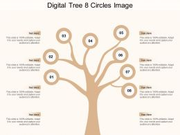 Digital Tree 8 Circles Image
