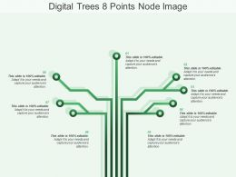 Digital Tree 8 Points Node Image