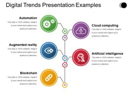 Digital Trends Presentation Examples
