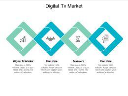 Digital Tv Market Ppt Powerpoint Presentation File Images Cpb