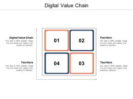 Digital Value Chain Ppt Powerpoint Presentation Gallery Graphics Cpb