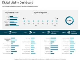 Digital Vitality Dashboard Digital Healthcare Planning And Strategy Ppt Portrait
