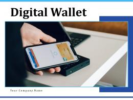 Digital Wallet Customer Exchange Illustrating Through Purchase Transactions