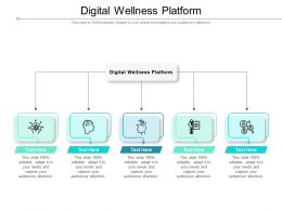 Digital Wellness Platform Ppt Powerpoint Presentation Ideas Infographic Template Cpb