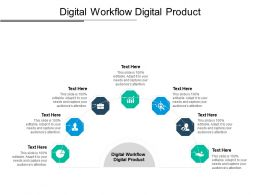 Digital Workflow Digital Product Ppt Powerpoint Presentation Layouts Gallery Cpb