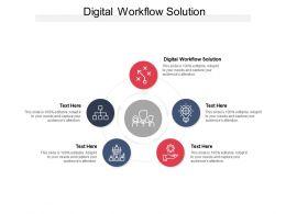 Digital Workflow Solution Ppt Powerpoint Presentation Portfolio Layout Ideas Cpb