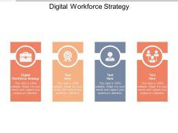 Digital Workforce Strategy Ppt Powerpoint Presentation Icon Model Cpb