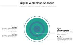 Digital Workplace Analytics Ppt Powerpoint Presentation Portfolio Picture Cpb