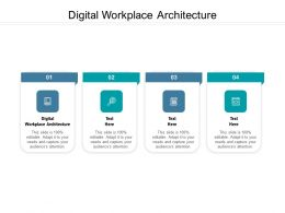 Digital Workplace Architecture Ppt Powerpoint Presentation Infographic Template Designs Cpb