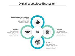 Digital Workplace Ecosystem Ppt Powerpoint Presentation Model Introduction Cpb