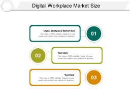 Digital Workplace Market Size Ppt Powerpoint Presentation File Infographic Template Cpb